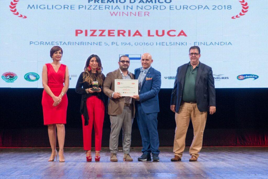 Premio 50 pizza 2018 - Luca Platania
